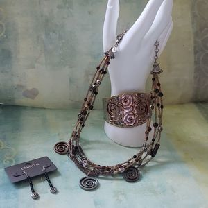NWT Chico's whimsical jewelry set